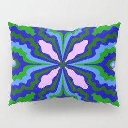 ¡ fiesta ! blue & green Pillow Sham