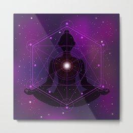 transcendental meditation Metal Print