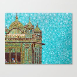 Harmandir Sahib Canvas Print