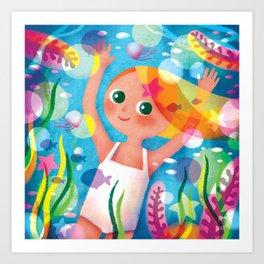Hello Summer! Art Print