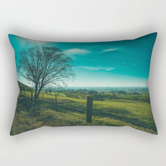 The Walk Home Rectangular Pillow