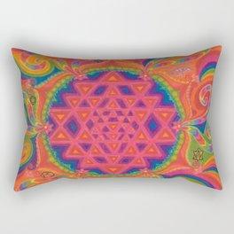 Meditative State Rectangular Pillow