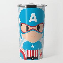 captain super hero Travel Mug
