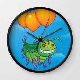 Impatient Caterpillar Wall Clock