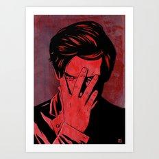 Somehow Shame Art Print