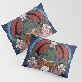 Silver Shinobi Pillow Sham