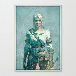 Witcher Ciri Smile Canvas Print