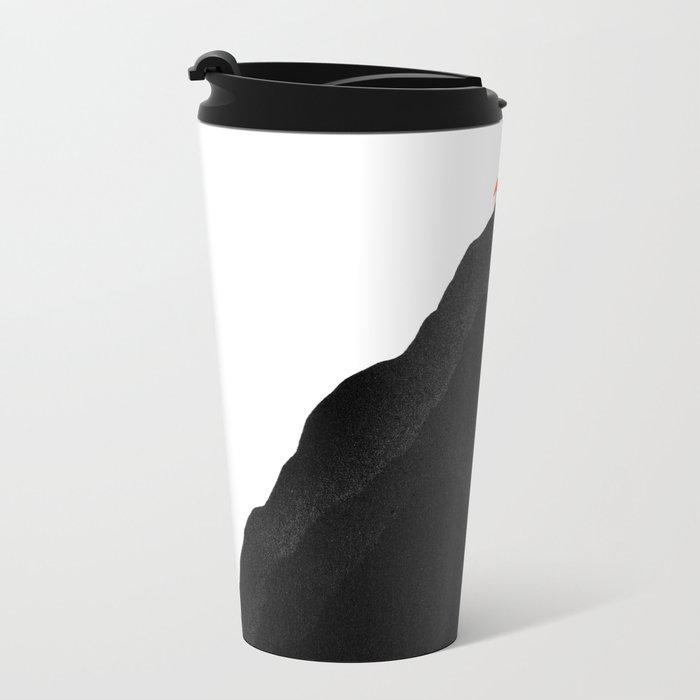 Man & Nature - To The Top Metal Travel Mug