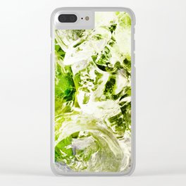 439 - Abstract drink design Clear iPhone Case