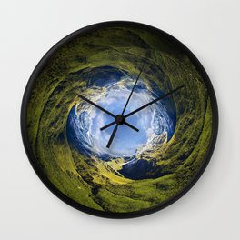 Around the World II Wall Clock