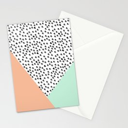 Mod Palm Springs - Abstract Stationery Cards