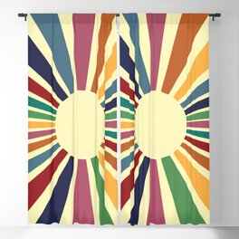 Sun Retro Art II Blackout Curtain