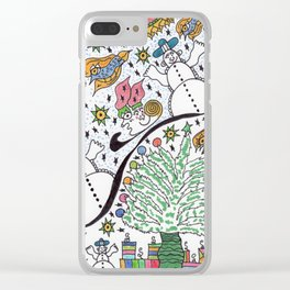 SledScape Clear iPhone Case