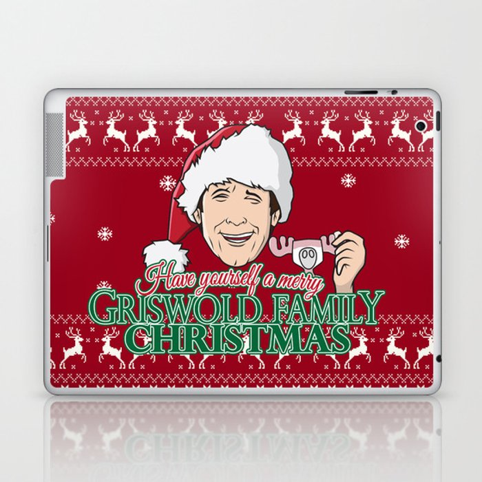 Griswold Family Christmas.Have Yourself A Merry Griswold Family Christmas Laptop Ipad Skin By Monsterscollide