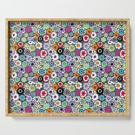 Millefiori (color 2) Serving Tray