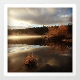 Cascade Lake III Art Print