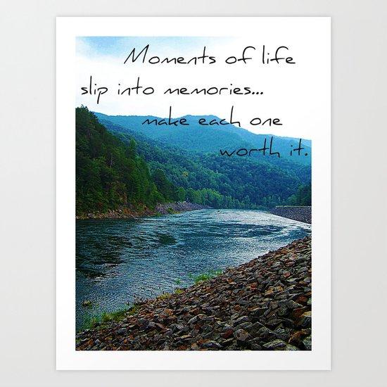 Moments of Life Art Print