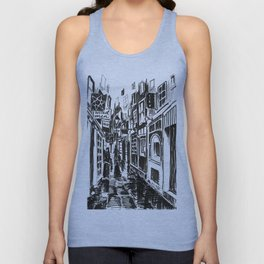 Narrow Alley - Shoreditch Unisex Tank Top