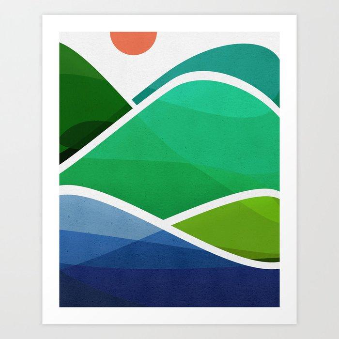 Oahu Shoreline Kunstdrucke