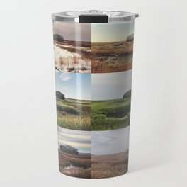 the clump through the seasons Travel Mug
