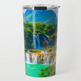 Ban Gioc Waterfall Detian Falls Vietnam Ultra HD Travel Mug