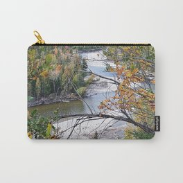Winding River in Autumn Carry-All Pouch