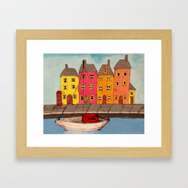 By the Canal  Framed Art Print