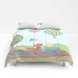 Choo choo train Comforters