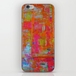 Alegria 1 -Dyptich iPhone Skin