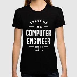Computer Engineer Work Job Title Gift T-shirt