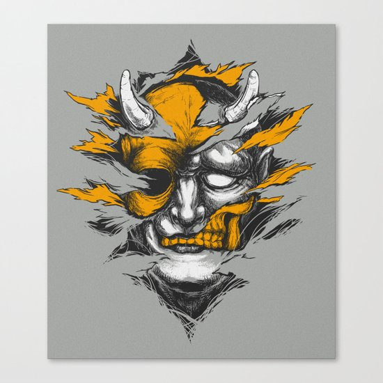 Devil Beside You Canvas Print