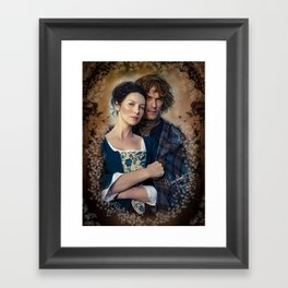 Claire and Jamie Framed Art Print