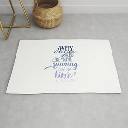 Running out of time | Hamilton Rug