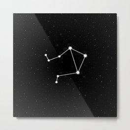 Libra Astrology Star Sign Metal Print