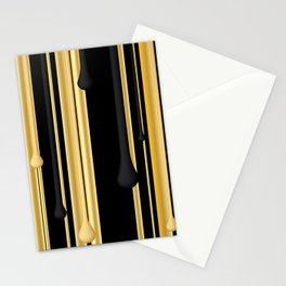 DRIPPING IN GOLD Stationery Cards