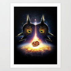 Majora's Mask Operation Moonfall Art Print
