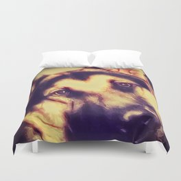 You Looking At Me?  -  Graphic 2 Duvet Cover