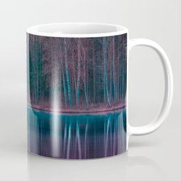 Forest Reflections Purple and Green Coffee Mug