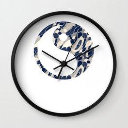 wall clock yin yang 2 Wall Clock