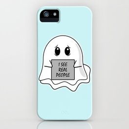 I See Real People iPhone Case