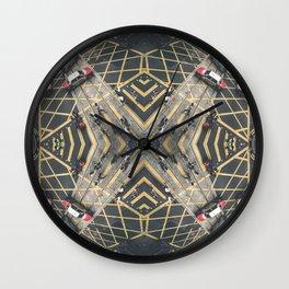 Hong Kong Kaleidoscope 06 Wall Clock