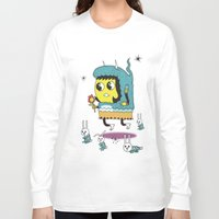 bunnies Long Sleeve T-shirts featuring The Birds and the Bunnies  by Frenemy
