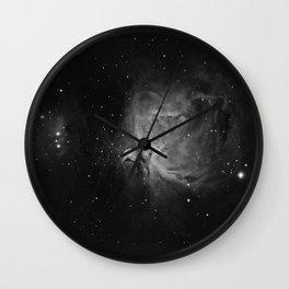 Orion Nebula 4 Wall Clock