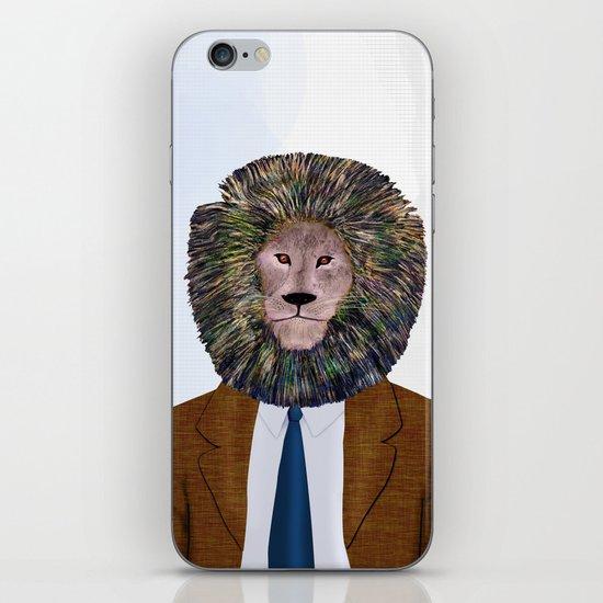 Uncle Leo's Portrait iPhone & iPod Skin