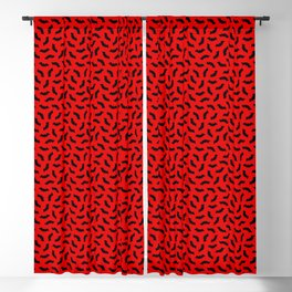 Vampire Bats Blackout Curtain