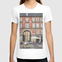 real madrid T-shirts featuring Relaxing cup, Madrid by Solar Designs