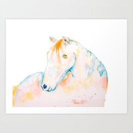 Dreaming of Color Art Print