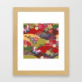Kabuky's Kingdom Framed Art Print