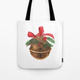 Ball with christmas decoration Tote Bag