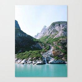Fjord. Canvas Print